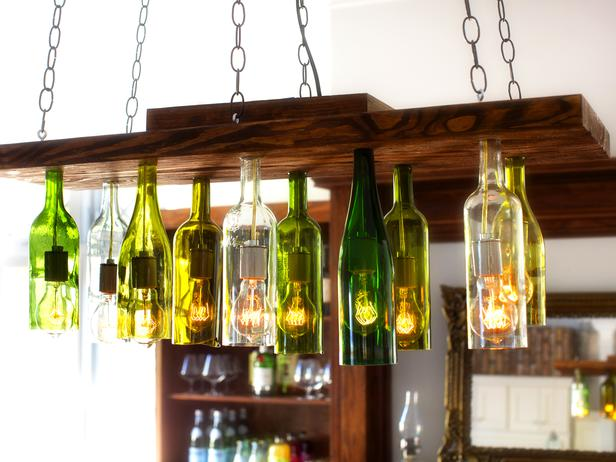 Decorate Your Basement Bar Area With Recycled Lighting Fixtures Lighting Is  Often One Of The Most Challenging Aspects Of Decorating Your Basement.