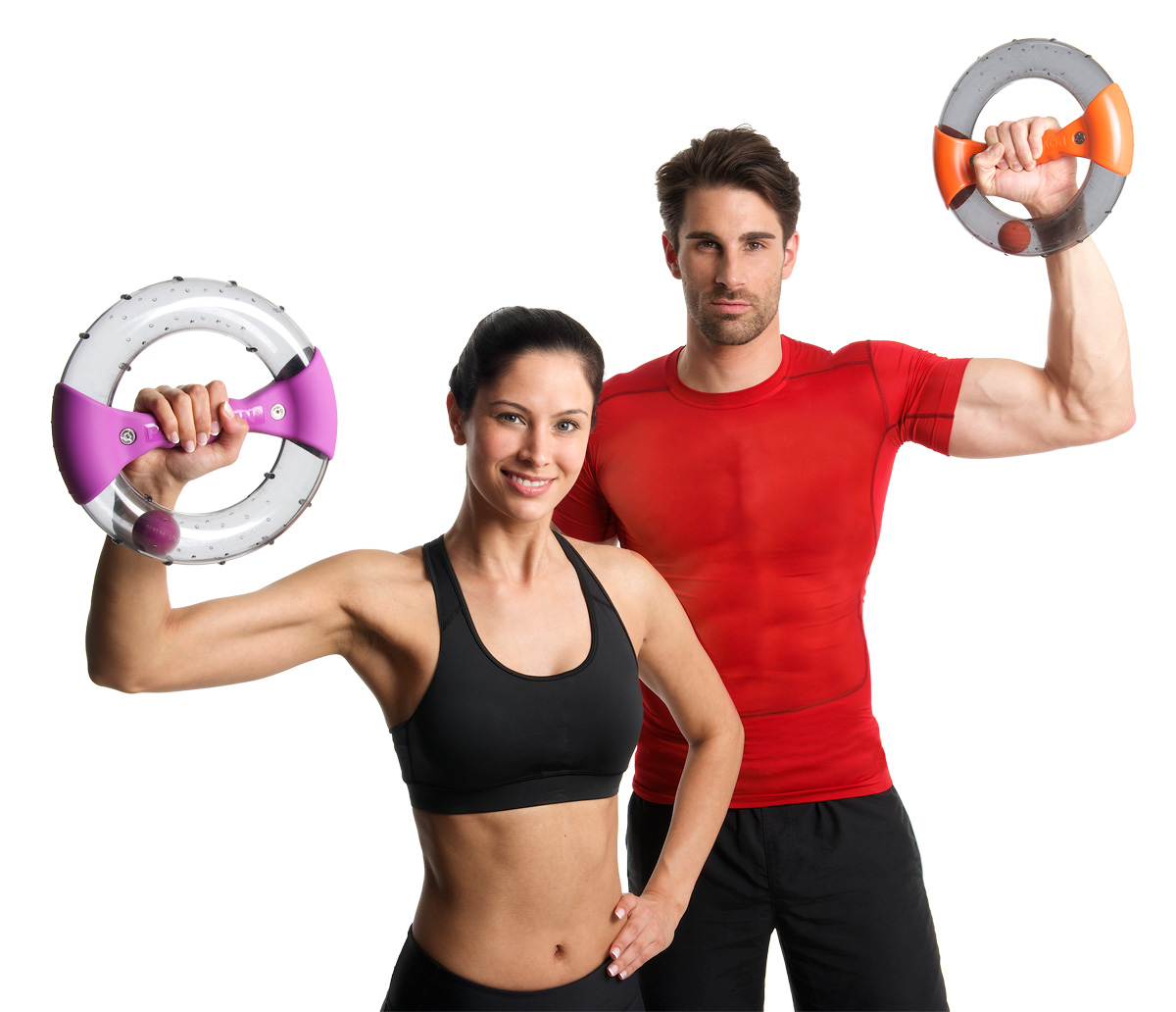 Powerspin, help tone and shape your arms, abs and shoulders!