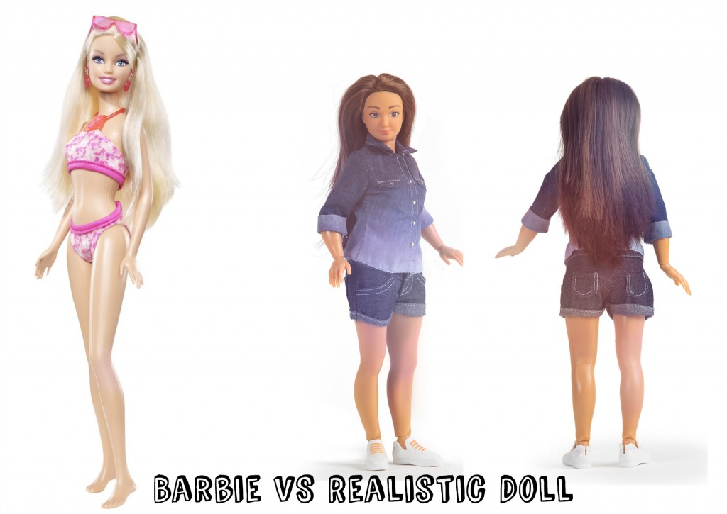 body image and new barbie Does barbie make girls want to be and then completed assessments of body image girls exposed to barbie reported lower body esteem and greater a new doll.