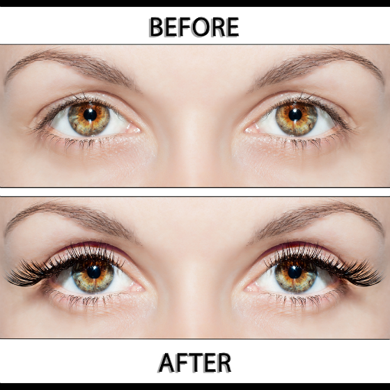 The Best Beauty Tutorial How To Apply False Eyelashes That Make