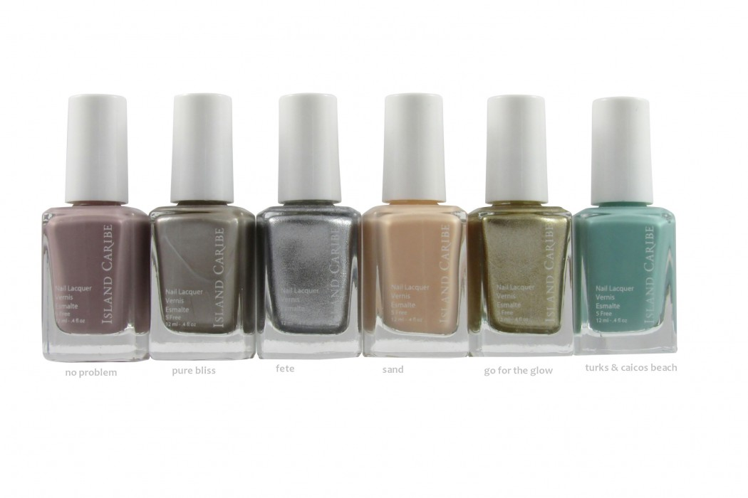 Island Caribe Launches Twelve Nail Lacquer Shades for Spring/Summer ...