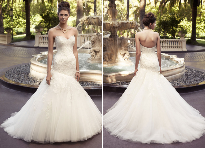 cfaa5933288a How to find the best wedding dress for your body type. mermaid dress