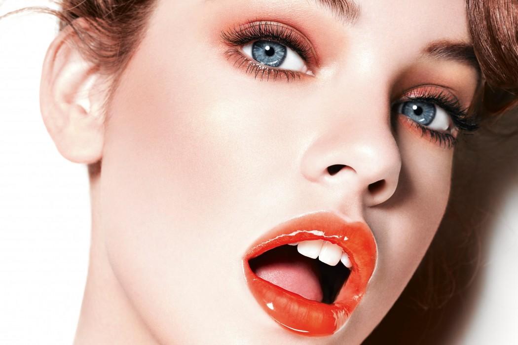 Image result for fuller lips mmodel