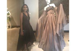 Interview with upcoming fashion designer Nancy Gubbala