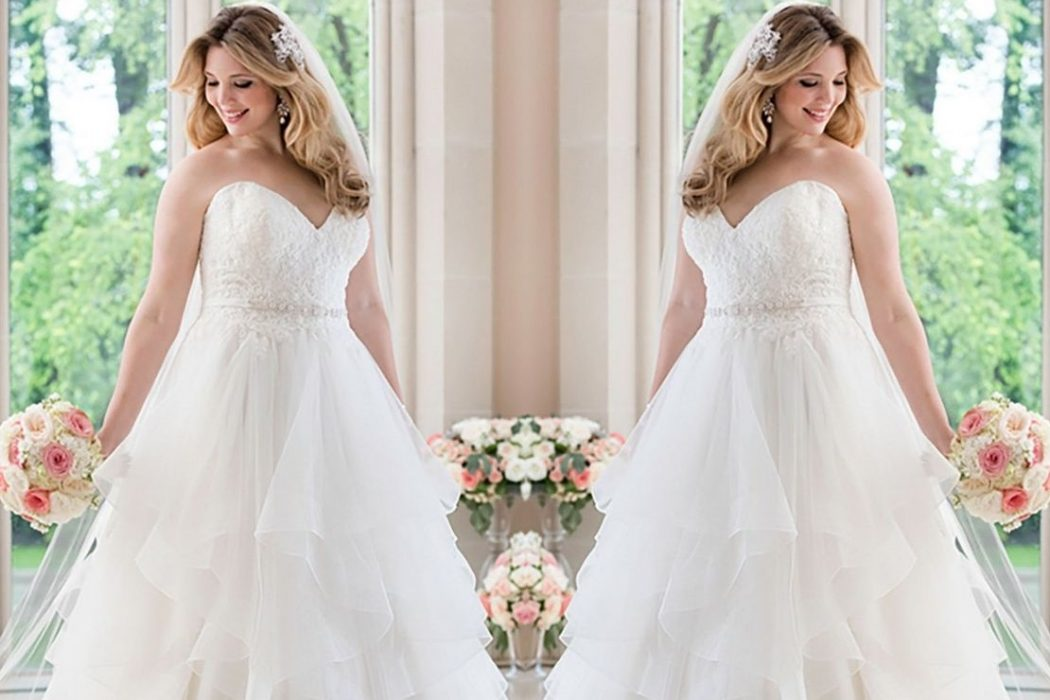 5 Top Designers For Gorgeous And Flattering Plus Sized Wedding Dresses