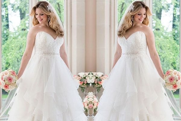 designers, plus size wedding dresses