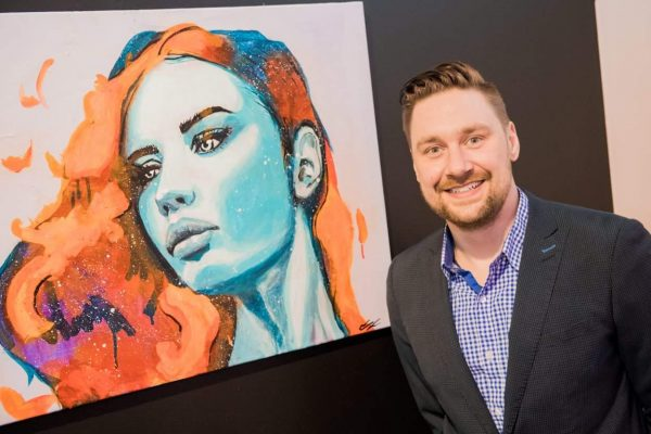 visual artist, Chad Raymo