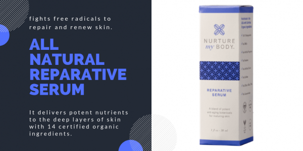 It delivers potent nutrients to the deep layers of skin with 14 certified organic ingredients