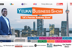 Interview with Yeukai Kajidori founder of UK's premier business show